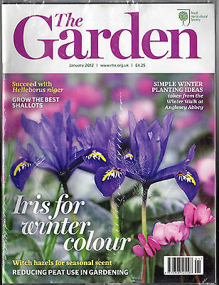 THE GARDEN (RHS) – January 2012: Iris for winter colour; reducing peat use
