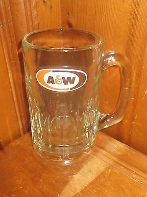 Vintage Collectable A&W Root Beer Glass Mug Stein Ice Cream Float Rootbeer 14 oz
