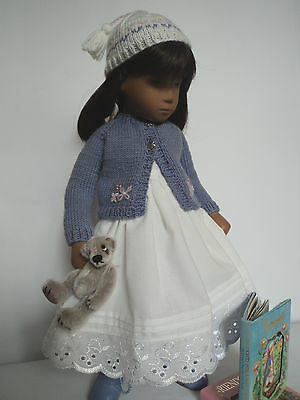 "Story-time:  Embroidered Cardigan & Hat for Sasha Dolls, from ""The Spin I'm."""