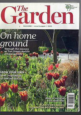THE GARDEN magazine (RHS) –  March 2012: On home ground with Tom Stuart-Smith