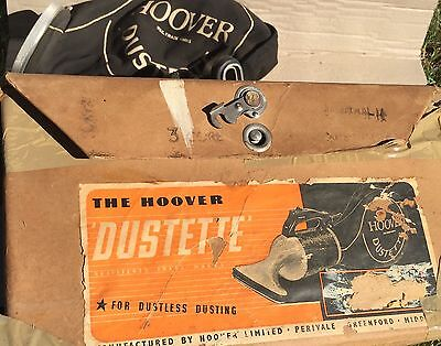 Vintage Retro Hoover 'dustette' Hand Vac Vacuum Cleaner Cardboard Packaging Box