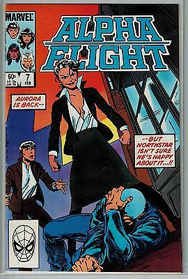 Alpha Flight - 007 - Marvel - February 1984