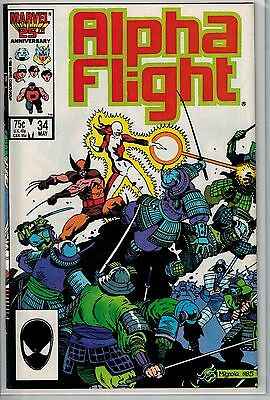 Alpha Flight - 034 - Marvel - May 1986