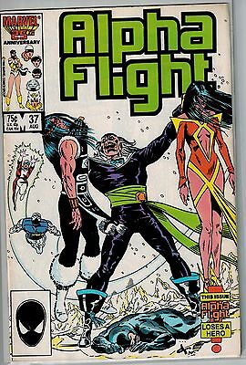 Alpha Flight - 037 - Marvel - August 1986