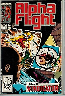 Alpha Flight - 077 - Marvel - Mid-November 1989