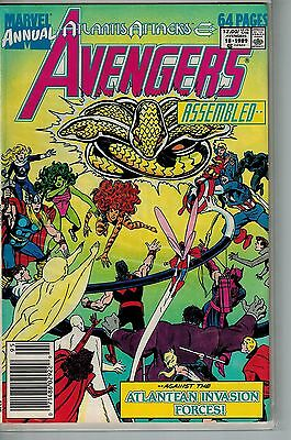 Avengers Annual - 018 - Marvel - 1989