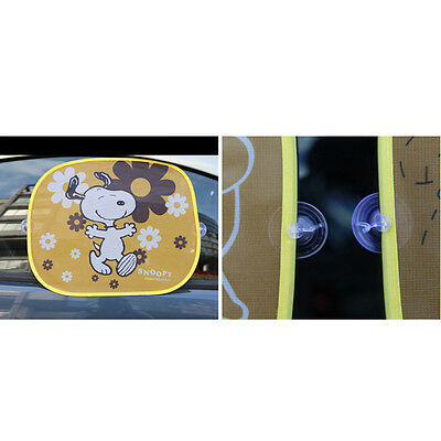 hot Adorable Baby / Kid Car Sun Shades Cover For Rear Side Window UV Protection