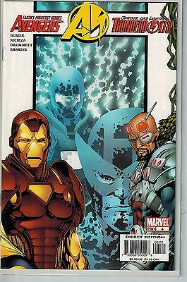 Avengers Thunderbolts - 004 - Marvel - July 2004