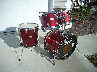 1980's Pearl MX all maple bass drum 22 inch
