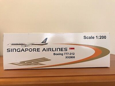 Singapore Airlines 9V-SYH 777-300 JC Wings 1/200