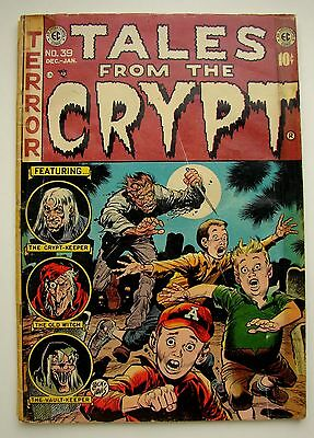 1953-54 Tales From The Crypt Vol 1, #39 Golden Age Horror Ec Comics
