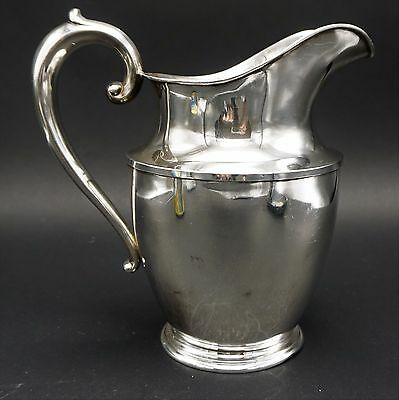 Antique Wallace Stering Silver Water Pitcher 4 ½ Pints