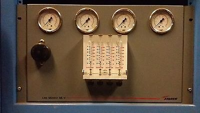 Andrew Line Monitor ML-4  4-port Low-pressure Line Monitor, satellite waveguide