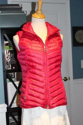 """ARIAT Women's """"Ideal"""" Puffer Riding VEST Chili Pepper (PINK) Small"""