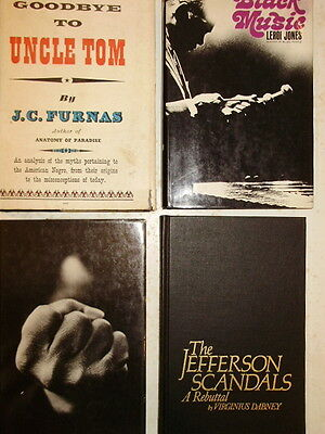 Lot of 4 African American Music Books...GoodBye to Uncle Tom