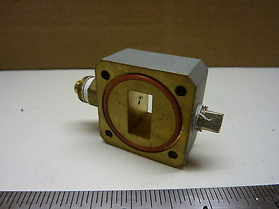 WR75 waveguide vacuum gas port Ku satellite - Make offer