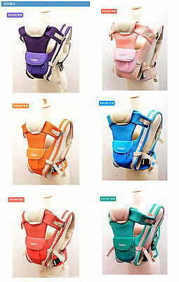 Baby Carrier Breathable Ergonomic Newborn Kids Pouch Front Back Infant Backpack