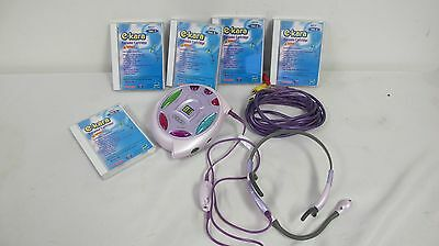E-Kara Pro Headset With 1-5 Karaoke Cartridges Takara Hasbro Toy