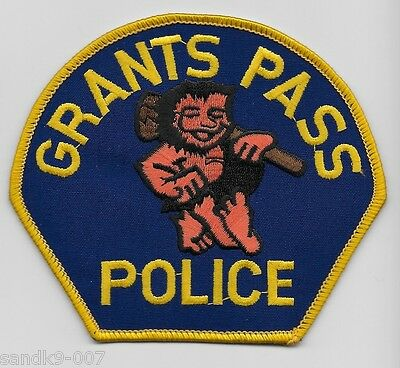 GRANTS PASS Police State of OREGON OR Shoulder Patch