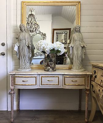 French Style Vintage Dressing Table with Mirror