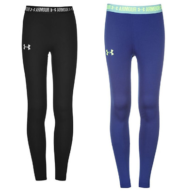Under Armour HeatGear Legging Collant Pantaloni Ragazzi Ragazze