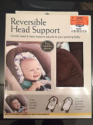 Eddie Bauer Baby Car Seat 2 in 1 Reversible Head Support