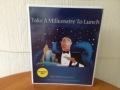 Take a Millionaire To Lunch Real Estate Course By Nick Sidoti - MANUAL & 6 CD'S!