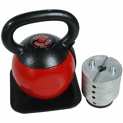 Stamina 36-Pounds Fitness Exercise Adjustable Weight Lifting Workout Kettlebell