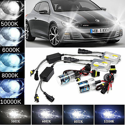 55W H7 Xenon HID Conversion Headlight Kit 5000/6000/8000/10000K FOR VW Scirocco