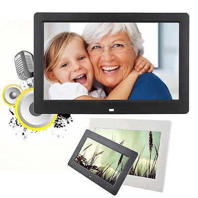 "10.1""HD Digital Photo Picture Frame Alarm Clock MP4 Player + Remote Control YYa"
