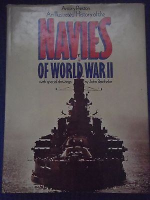 Illustrated History of the Navies of World War II by Antony Preston