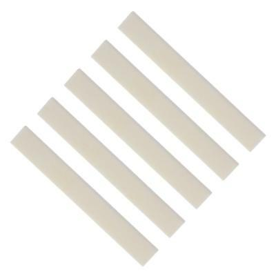 5pcs High Quality Cattle Bone Blank Saddles For Guitar Maker Luthier Supply