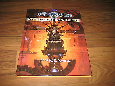 The Strange Encyclopedia of Impossible Things HC Monte Cook Games 2016 Neu New