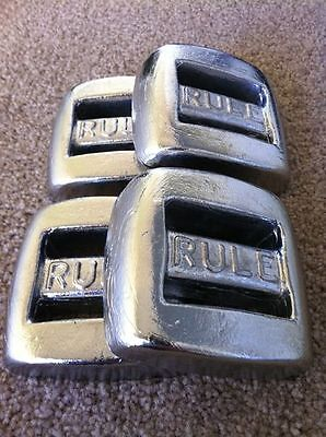 4 x 1.3kg Rule Dive Belt Weights,Scuba-diving,Snorkel & Spearfishing *Brand New*
