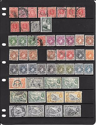 Selection Of Postage Stamps From Nigeria