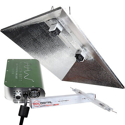 ADJUSTA WATT 1000w 400v LIGHT KIT DE, PARABOLIC SHADE AND