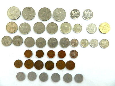 41 Different Coins from Botswana