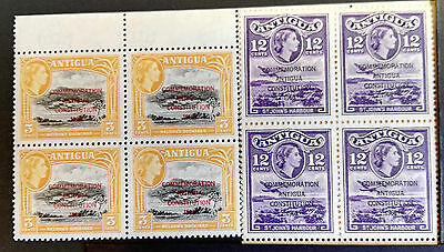 Antigua MNH Commemoration of constitution 1960 Overprinted