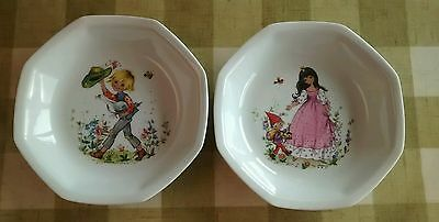 Children's porcelain bowls