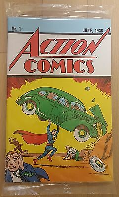 Action Comics #1 Official Lootcrate Exclusive Reprint Sealed New Superman Comic
