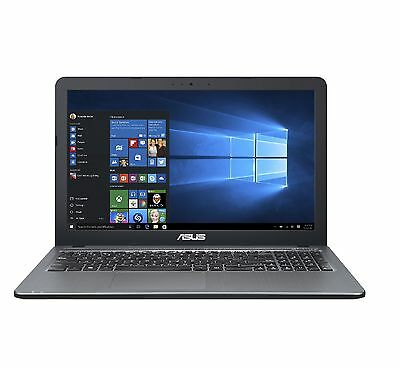 Asus Notebook 15,6 Zoll - Intel Quad Core 2,60 GHz - 500 GB - USB 3.1 - Win 10