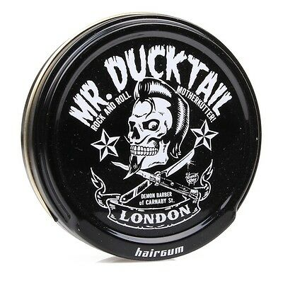 Mr Ducktail Original Wax HAIRGUM Cera Pomada Extra Brillo Fuerte Pelo Hair Style
