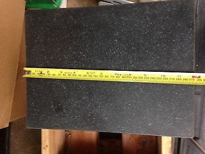 """Granite Toolmaker's Flat About 12"""" x 9"""" x 3"""". Surface Plate"""