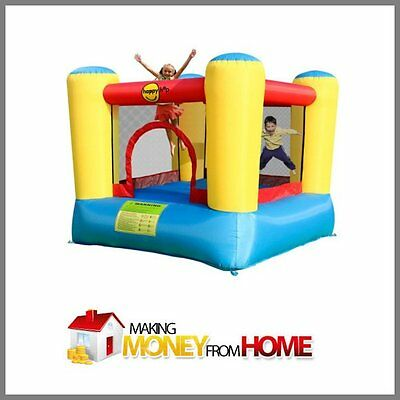 """Fully Stocked Dropship BOUNCY CASTLE Website High Margin """"300 Hits A Day"""""""