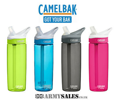 Camelbak EDDY 0.6L (600ml) Spill Proof Sports Water Bottle - NEW Colours!