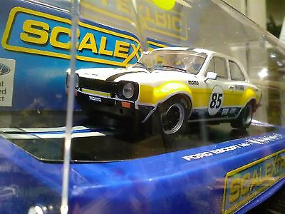 Scalextric Ford Escort Mk1 C3489 Brown and Geeson 2012 JD Classics series champ