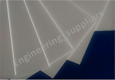 1.5mm Thk White Plastic Sheet High Impact Poly styrene HIPS 30 x 24 & 40 x 30 cm
