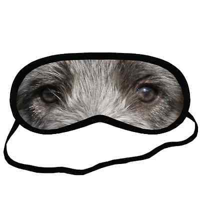 Adorable IRISH WOLFHOUND EYES Dog Puppy Small-Med Size SLEEP MASK Gift Cover