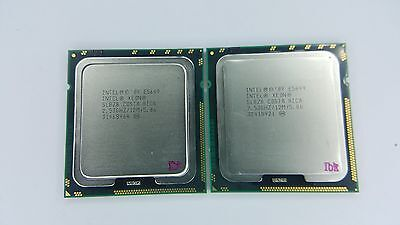 Matched pair of Intel Xeon E5649 2.53GHz Six Core SLBZ8 Processor w/Grease