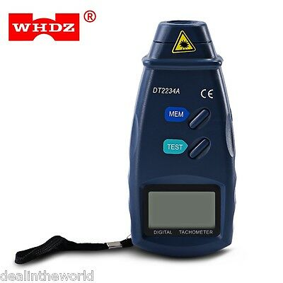 WHDZ DT2234A Digital Tachometer Non-contact Laser Measure Meter